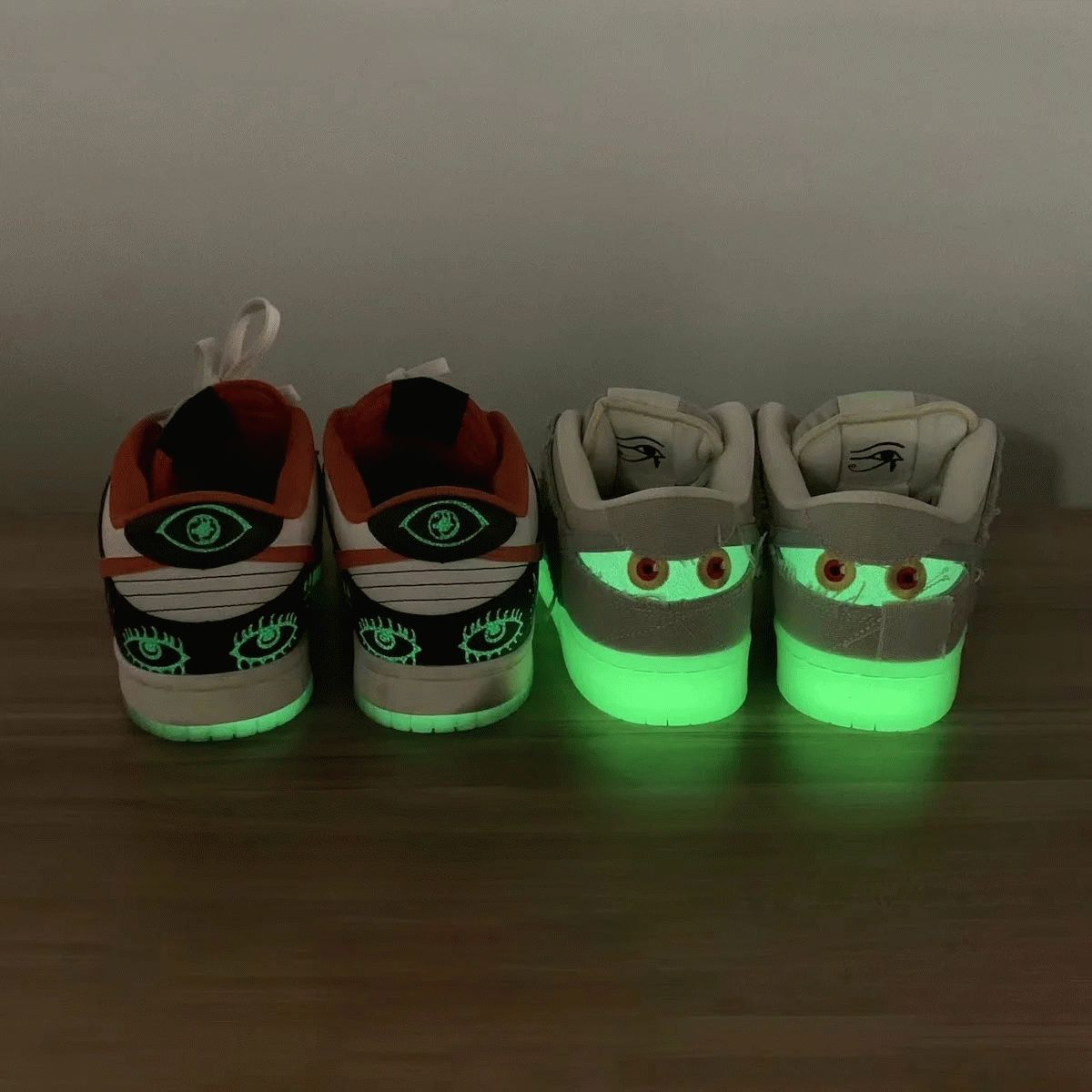Spooky Nike SB Dunk Low Mummy Halloween