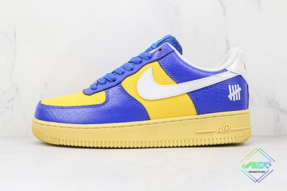 Undefeated Nike Air Force 1 Low Croc Royal Blue
