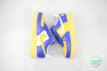 Undefeated Nike Air Force 1 Low Croc Royal Blue Swoosh