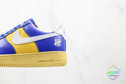 Undefeated Nike Air Force 1 Low Croc Royal Blue yellow